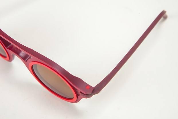 Aro gafas de sol de diseño detalle