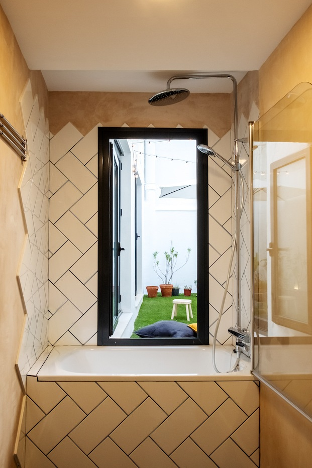 baño vivienda flexible gyra architects
