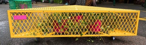 better air benches en bankside london design festival 2019