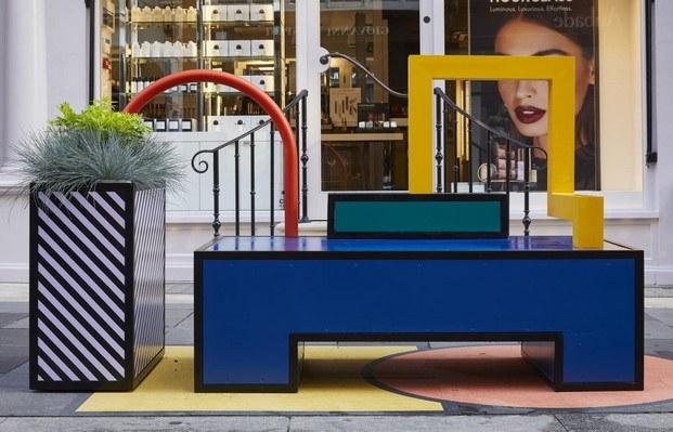 walala lounge en el west end london design festival 2019 diariodesign