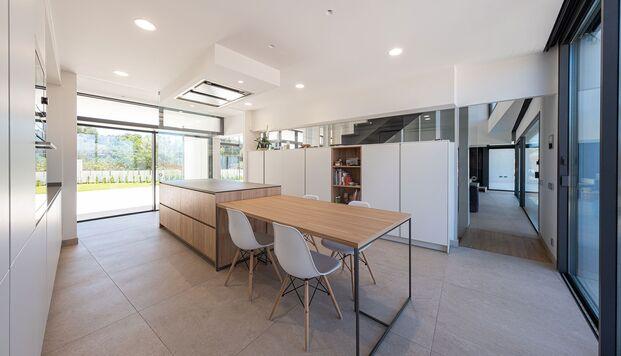 Casa Simpática. Vivienda modular. Cocina