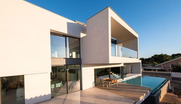 Casa Simpática. Vivienda modular. Exterior