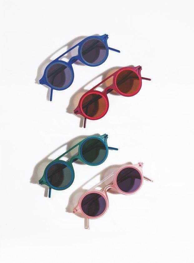 combinaciones de color colección aro gafas de sol de diseño mermelada plasticdelux