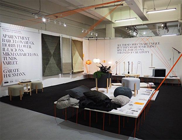 exposición inspired in barcelona en london design festival 2019