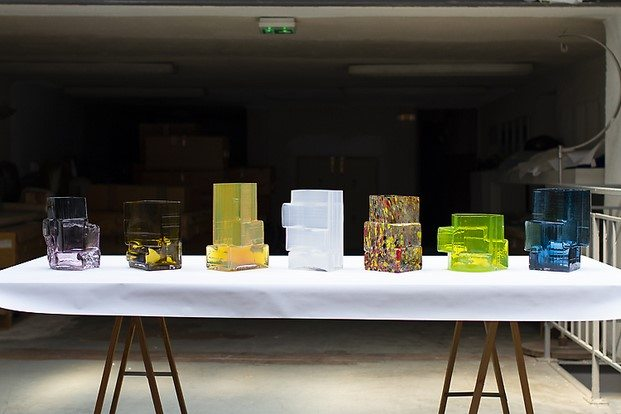 jarrones brut de jonah takagi diseños esenciales en maison objet 2019