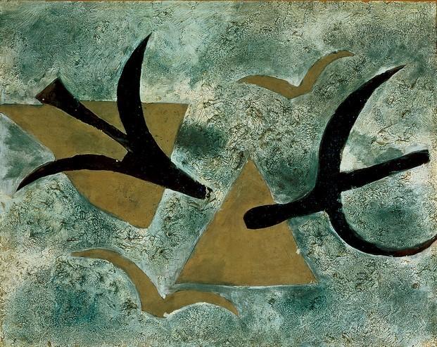 Les oiseaux Braque