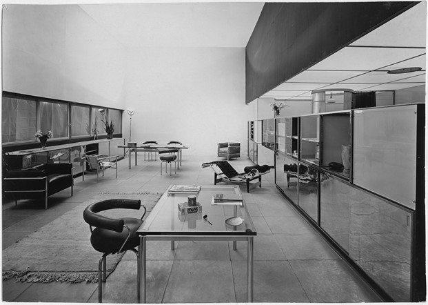 Salon d'automne diseño Le Corbusier Pierre Jeanneret Charlotte Perriand
