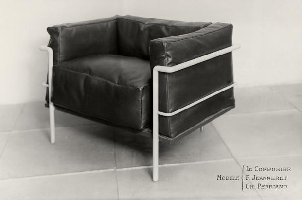 sillón grand confort le corbusier pierre jeanneret charlotte perriand