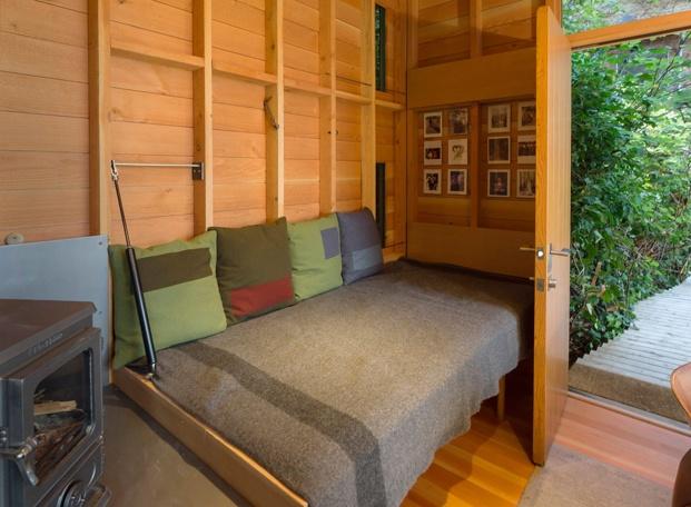 dormitorio en barraca