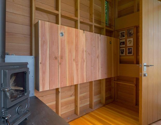 cama plegable de madera