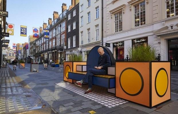 walala lounge en el west end london design festival 2019