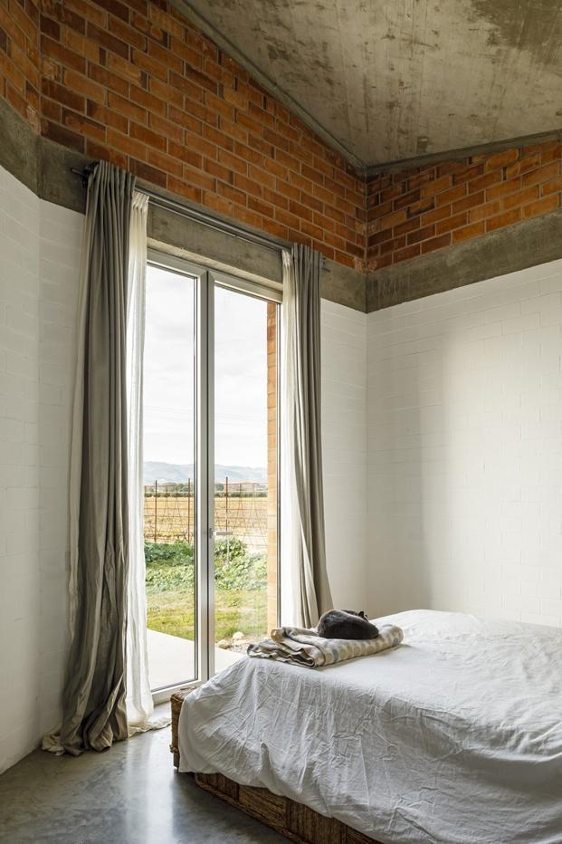 Jesús Perales. Proyecto Casa Almudena en Tarragona. Dormitorio