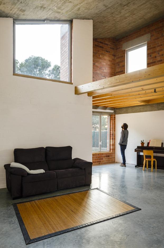 Jesús Perales. Proyecto Casa Almudena en Tarragona. Sofá