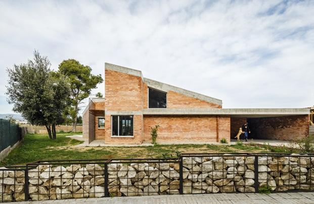 Jesús Perales. Proyecto Casa Almudena en Tarragona. Exterior