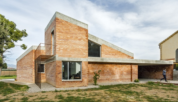 Jesús Perales. Proyecto Casa Almudena en Tarragona. Exterior vivienda