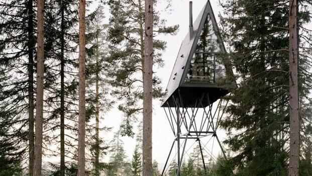 Cabaña en el árbol PAN Treetop Cabins, en Noruega