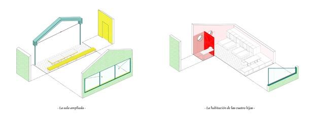 planos de una casa de campo