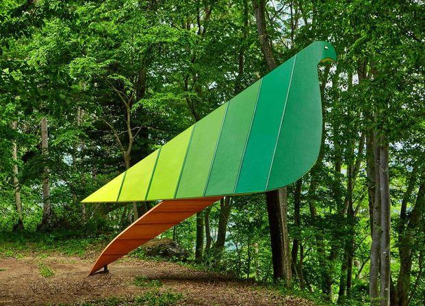 Treehouse project. Japan. Bird