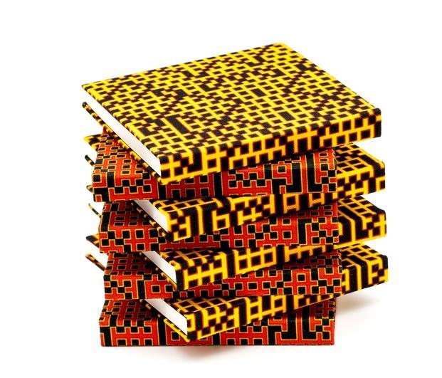 Zero Waste. Libretas Zuzunaga. telas recicladas. Bitmap