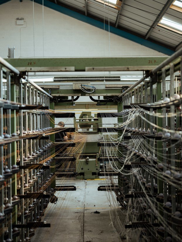 fábrica de harris tweed