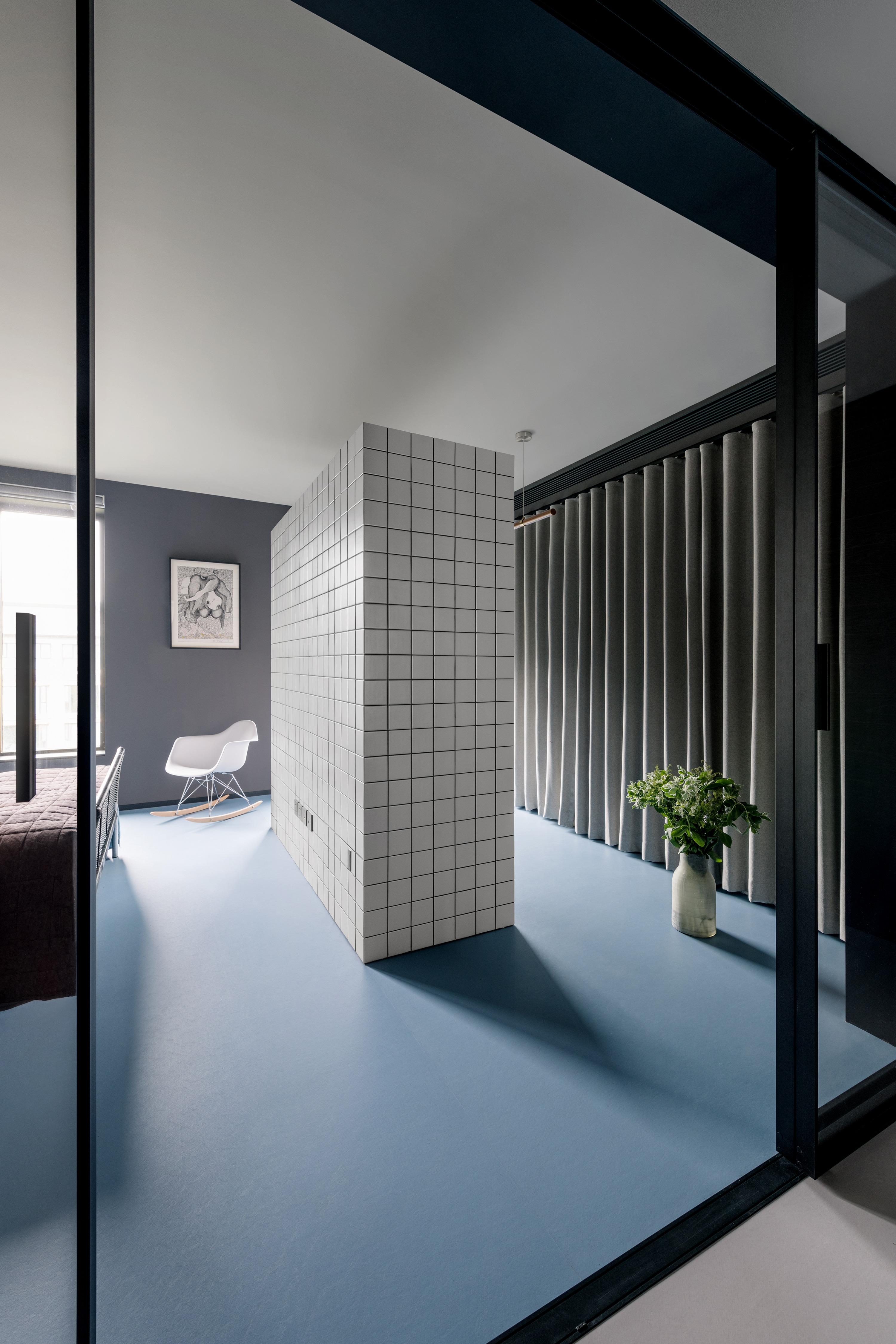 suelo casa azul en pekín