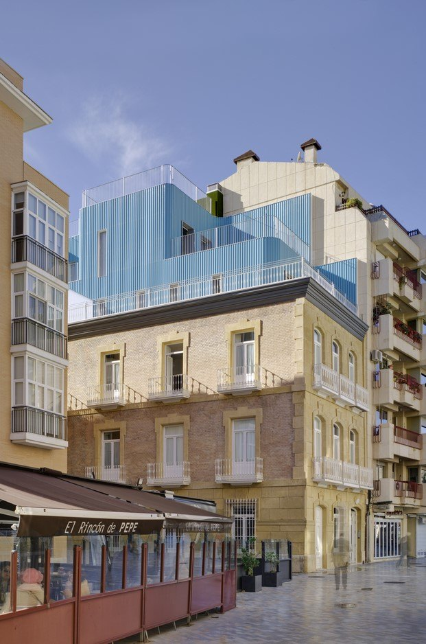 mención premio cerámica arquitectura para edificio tívoli