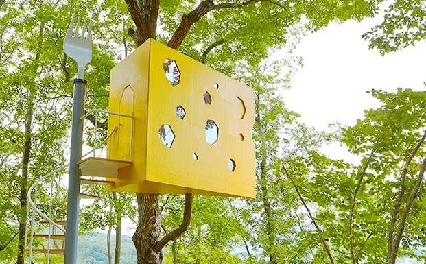 Treehouse project. Japan. Cheeshouse