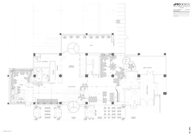 plano hotel barceló málaga