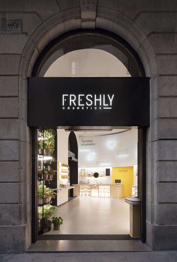 Freshly Store en Portaferrisa. Entrada principal