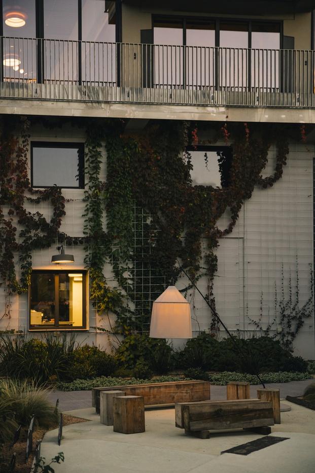 Nueva sede Marset. Jardín