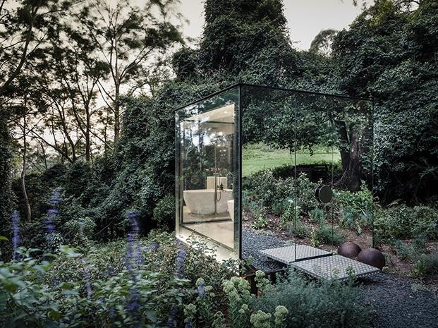 El baño camuflado, de Madeleine Blanchfield Architects
