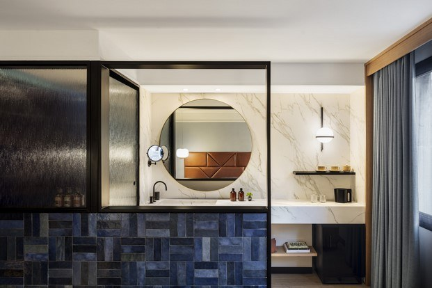 baño hotel kimpton vividora