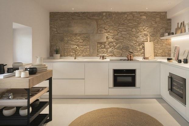 cocina the eleven house con pieza solitaire de bulthaup