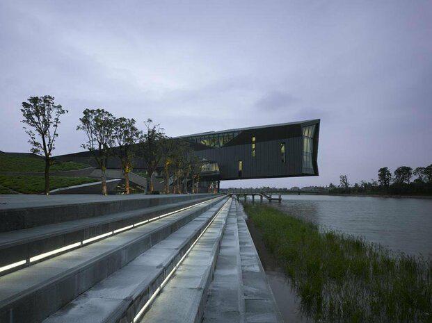 Oficinas Giant Shanghai. Thom Mayne. Morphosis