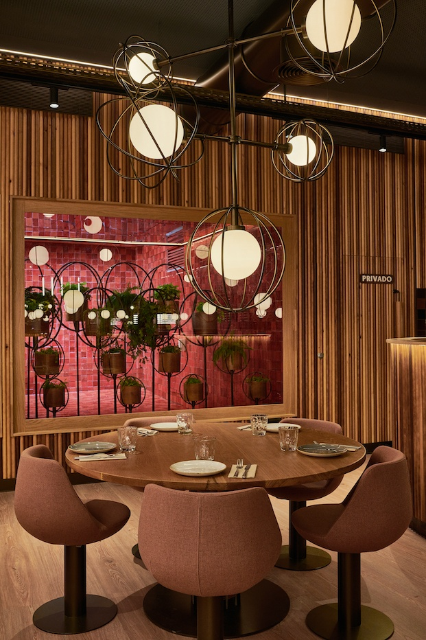 iluminación restaurante piur valencia