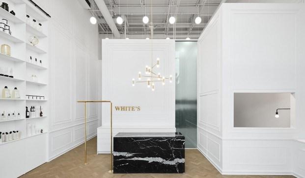 Ivy Studio tintorería blanca en Canadá