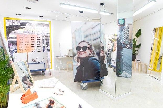 Project Lobster gafas de diseño. Tienda Valencia. Calle Sorní
