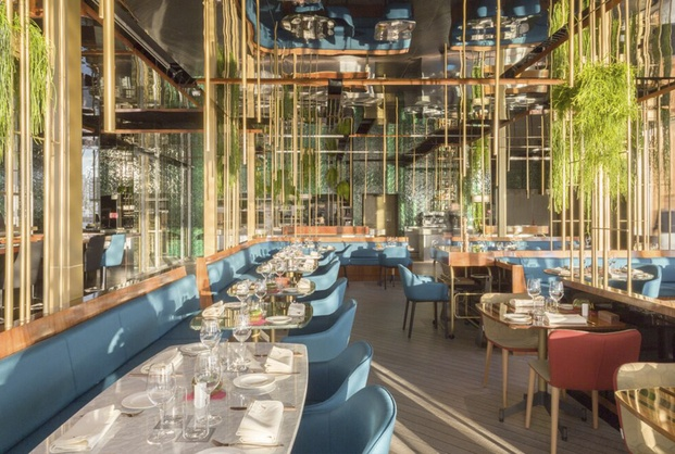 Restaurant & Bar Design Awards. Restaurante Blue Wave Barcelona. El Equipo Creativo.
