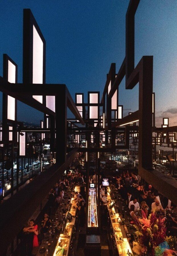 Restaurant & Bar Design Awards. Restaurante Spine Beirut, de Gatserelia Design.