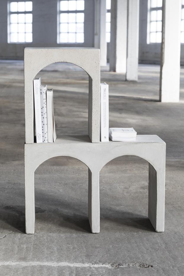 tendencia grecorromana. Maison Objet 2020. Roman bench. Serax