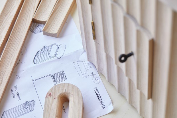 proceso de diseño serpentine postbox studiomama