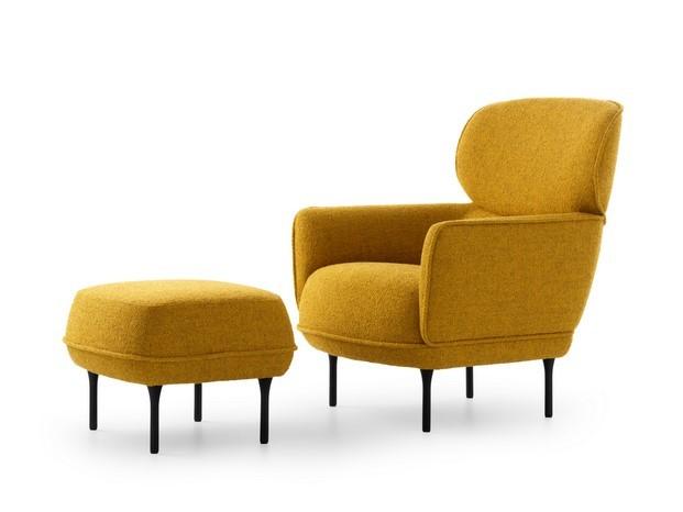 Cabut sillón y ottoman de Yonoh para Pode