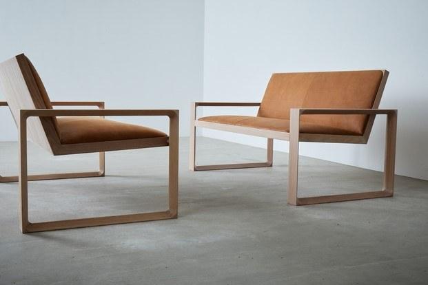 Duo Legacy diseño en madera sofás Terence Woodgate