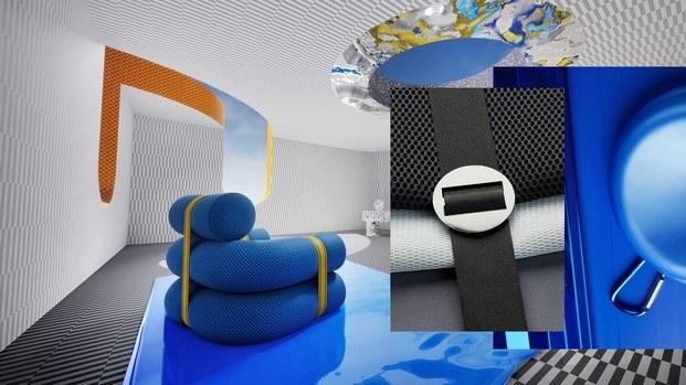moodboard envisions tendencia active urban color azul
