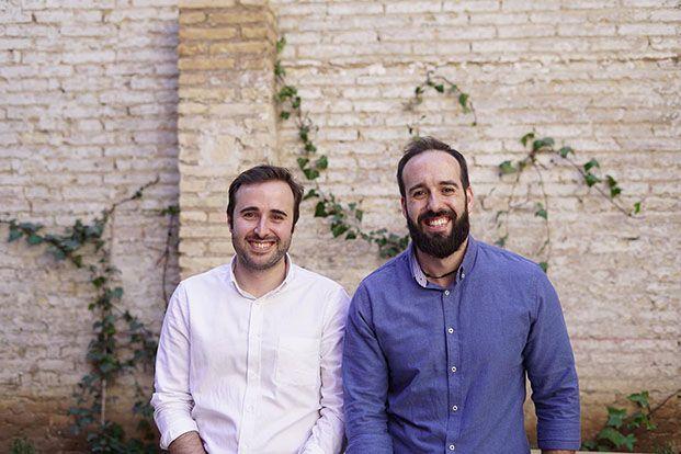 Andrés Perales y Pablo Bertolín fundadores de la startup Designable