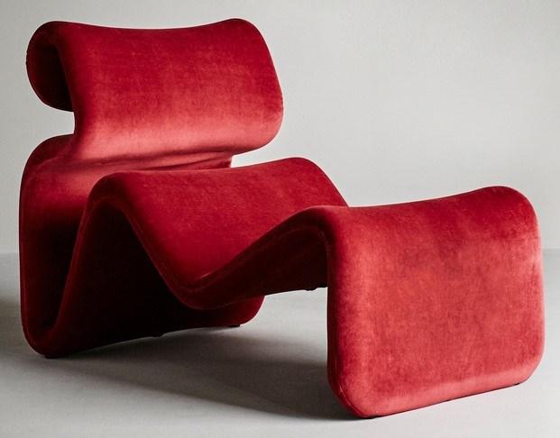 clásico del diseño años 50 terciopelo stockholm furniture fair 70 aniversario