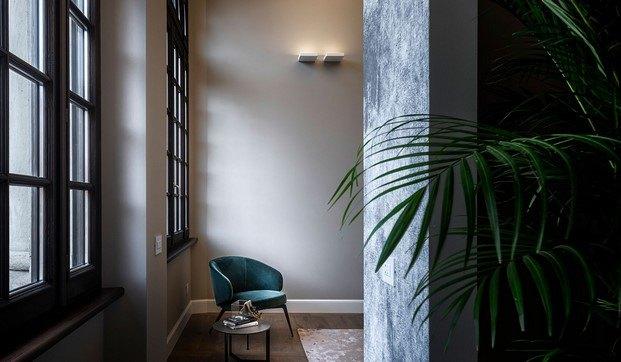interior apartamento en palazzo poste