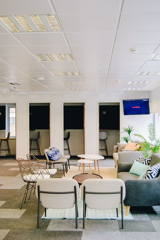 oficinas de diseño eventbrite en Madrid