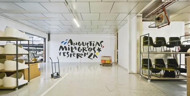 Nuevas oficinas Sancal. Tipografías Marial_Soy