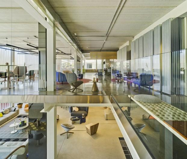Nuevas oficinas Sancal. Showroom